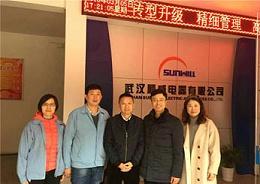 青岛中新华美公司总经理带队赴武汉顺威参观学习 交流经验携手并进