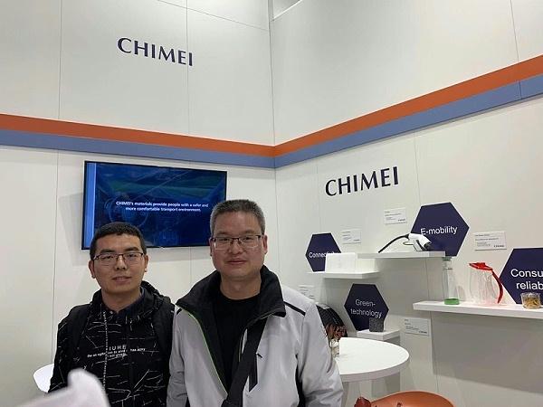 中新华美总经理王东先生一行赴德国参加2019年德国杜塞尔多夫塑料展览