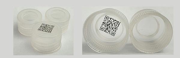 客户用我司超韧透明PP材料制成的酒盖内盖